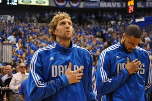 Chandler e Dirk Nowitzki Mavericks