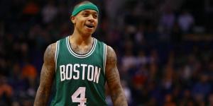 "Isaih Thomas, point guard ""tascabile"" dei Celtics"