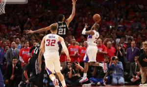 Chris Paul al tiro decisivo in Gara 7 contro i San Antonio Spurs