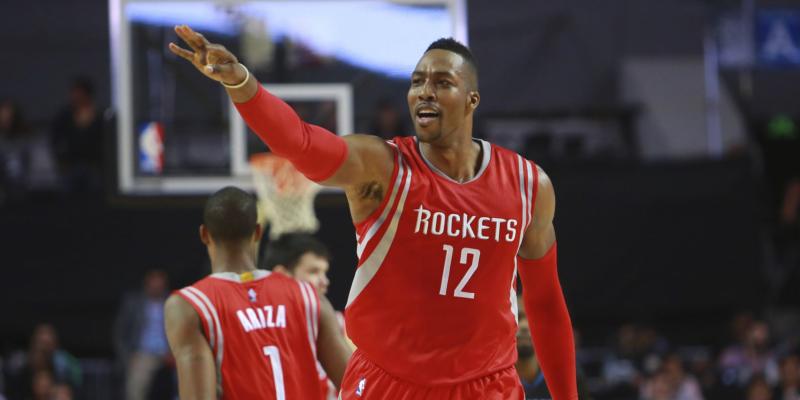 Rockets howard contento del presente ma il passato brucia ancora nba passion - Howard divo del passato ...