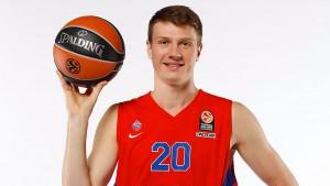 Andrey Vorontsevich, ala grande del CSKA Moscow