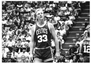 Larry Bird dei Boston Celtics