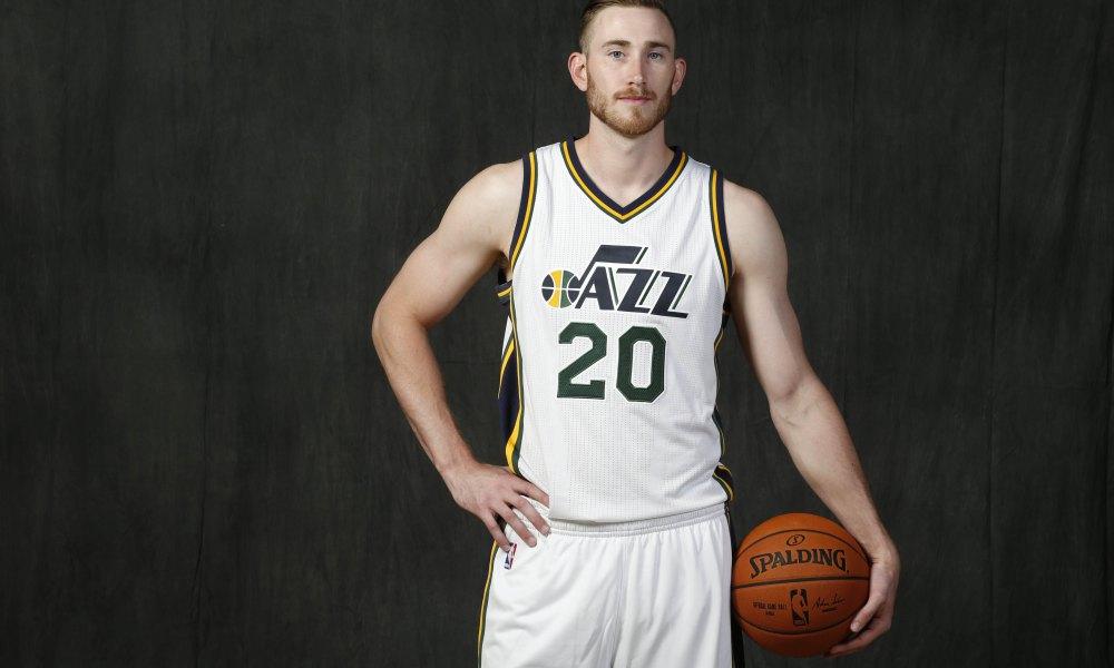 NBA: Utah Jazz-Media Day-Boston Celtics, Hayward