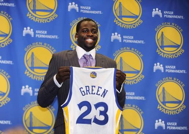Draymond Green selezionato dai Warriors al draft '12