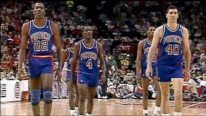 Chicago, playoff 1991: Ii Bad Boys, sconfitti, abbandonano il campo