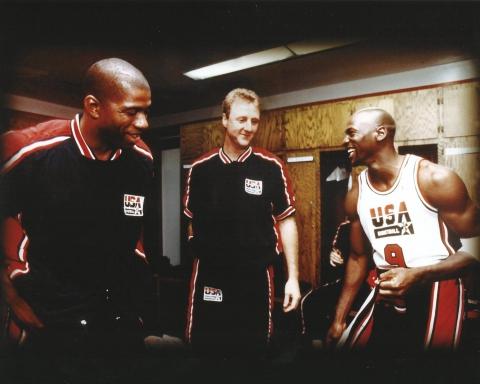Magic Bird e Jordan NBA Finals