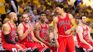 I Chicago Bulls al completo