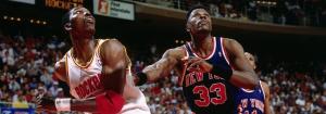 Olajuwon contro Patrick Ewing alle NBA Finals 1994