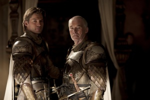 Due membri della guardia reale nella serie tv, Game of Thrones
