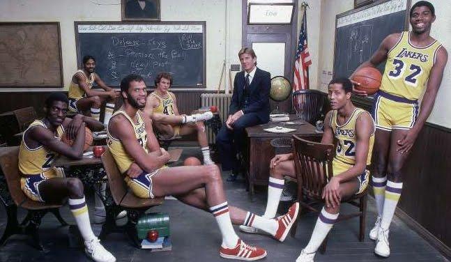 A lezione Lakers Showtime