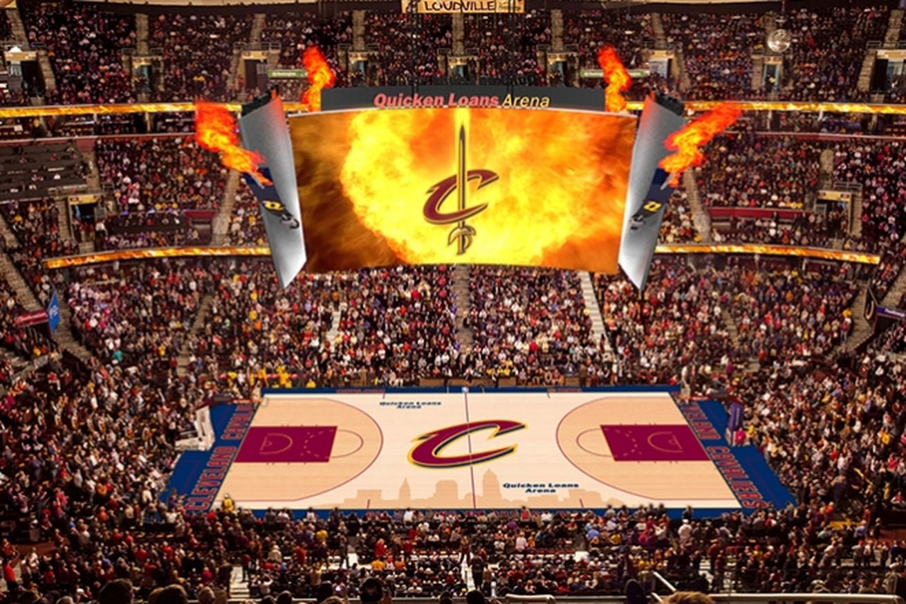 Cavaliers Quicken Loans Arena