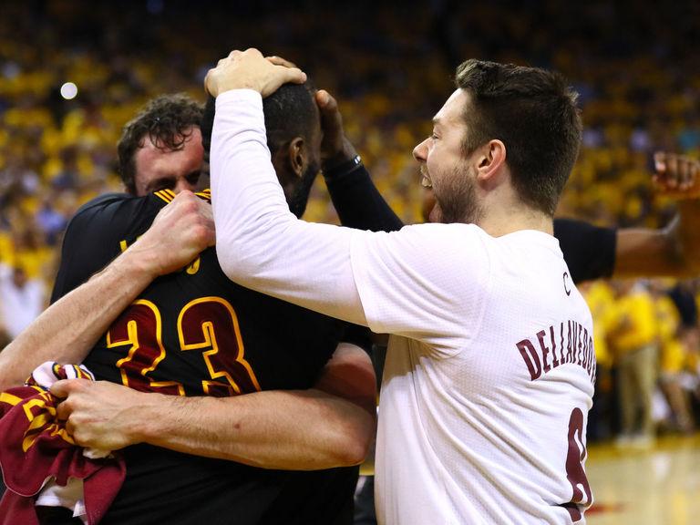 Cavaliers titolo NBA LeBron James
