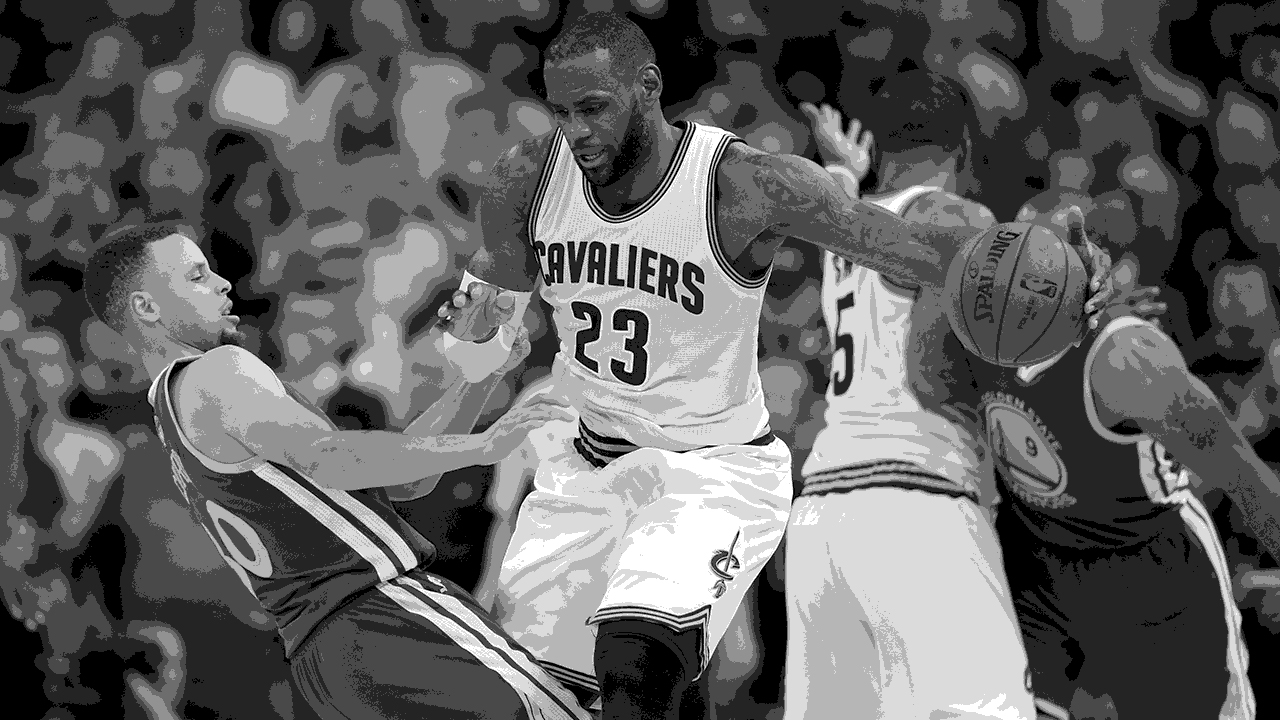 LeBron James Steph Curry Finals game 6
