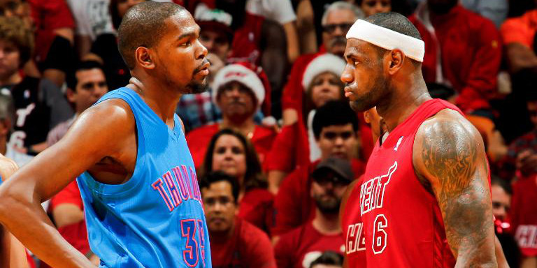 Kevin Durant LeBron