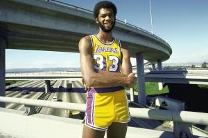 1975: Kareem in maglia Lakers