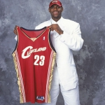 LeBron James nel 2003