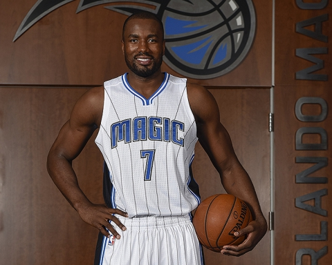 Orlando Magic Introduce Serge Ibaka