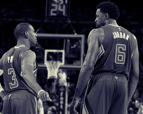 Chris Paul e DeAndre Jordan Los Angeles Clippers