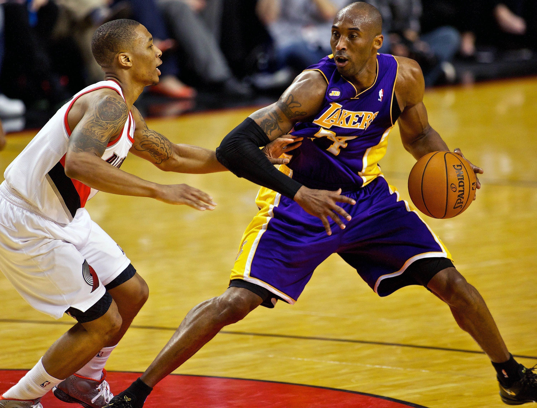 Kobe vs Lillard Step Back