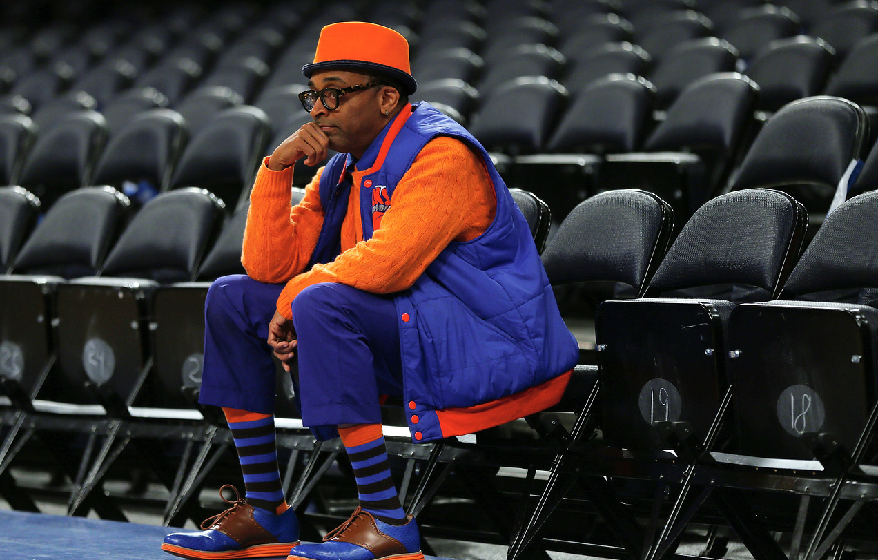 Spike Lee-New York Knicks vs Brooklyn Nets