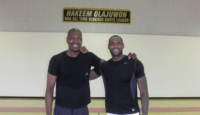 LeBron James-Hakeem Olajuwon