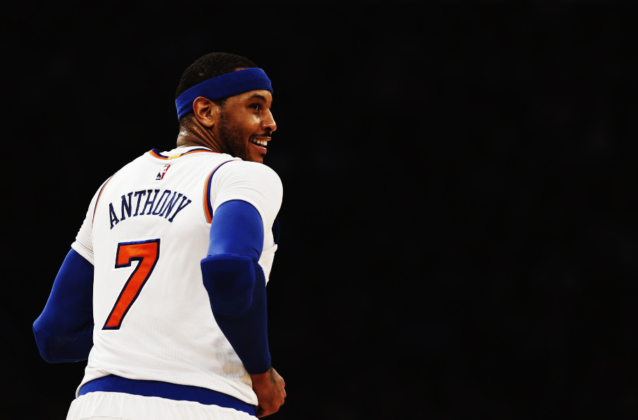 Melo-Carmelo Anthony Knicks