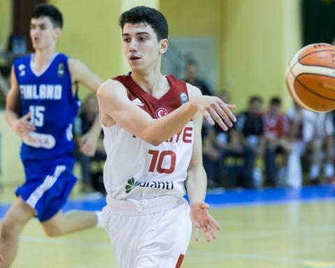eray akyuz turchia under 16 u-16 FIBA