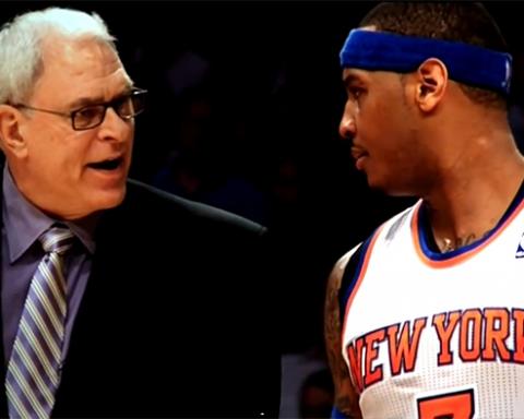 Carmelo-Phil New York Knicks