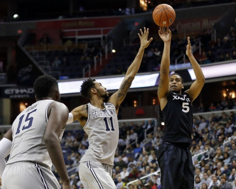 trevon bluiett xavier musketeers ncaa march madness