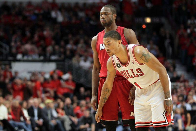 NBA Stats Derrick Rose-Derrick Rose e Wade