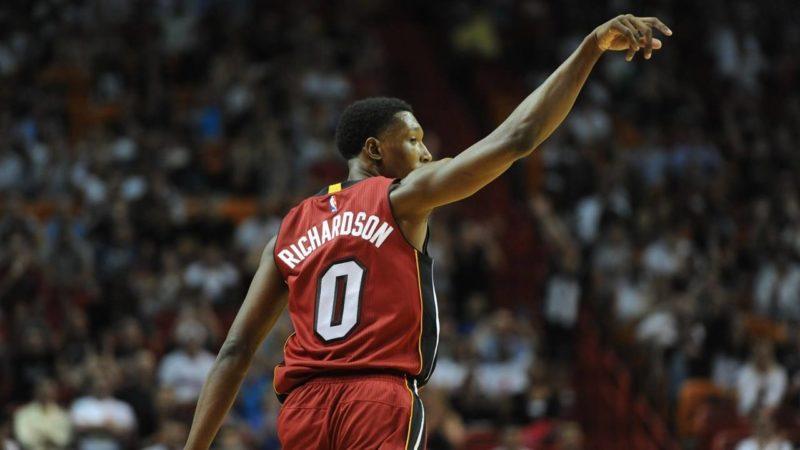 Josh Richardson-Richardson rimane ai Miami Heat