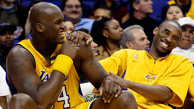 Los Angeles Lakers-Shaq e Kobe