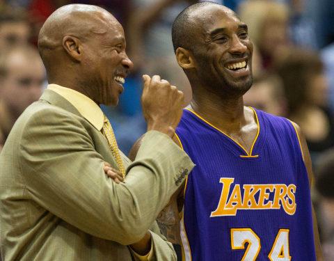 Byron Scott e Kobe Bryant