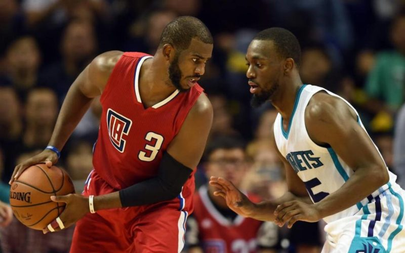Chris Paul contro Kemba Walker NBA