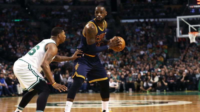 Lebron-James-Marcus-Smart-NBA News