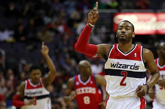 Cleveland Cavaliers contro Wall e Beal Washington Wizards-Cleveland Cavaliers
