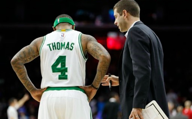 Boston Celtics: Brad Stevens e Isaiah Thomas