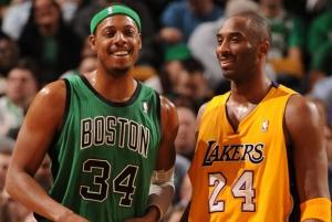Paul Pierce contro Kobe Bryant
