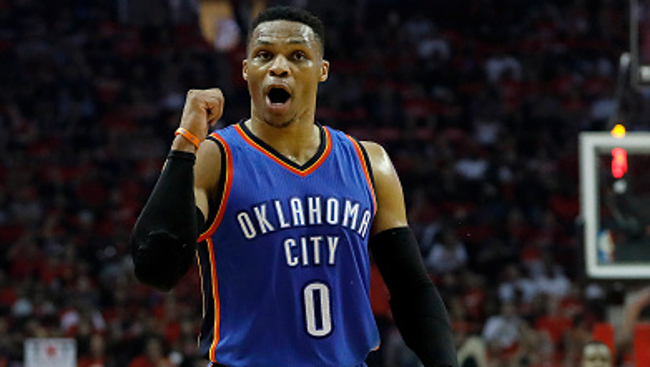 #5 Russell Westbrook