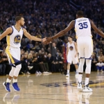 Kevin Durant e Stephen Curry