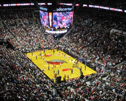 Moda center Palazzetti caldi NBA