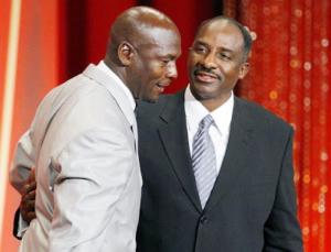 David Thompson introduce MIchael Jordan nella Hall Of Fame (2009)