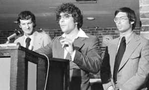 La dirigenza degli Spirits. Da sinistra, Harry Weltman, Donald Schupak e Daniel Silna