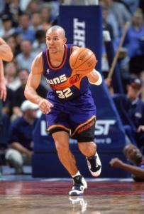 Kidd con la divisa anni '90 dei Suns
