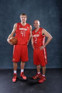 Kidd e Dirk Nowitzki all'ASG 2010