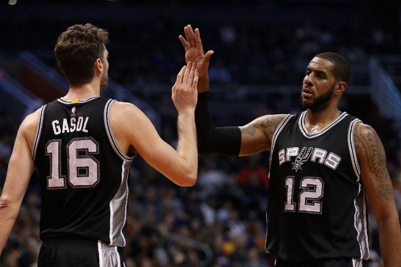 Pau Gasol Aldridge a San Antonio, gli Spurs puntano ancora su di loro