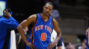 Latrell Sprewell in maglia Knicks