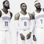 Oklahoma City Thunder Pronostici Stagione Nba 2017/2018: Northwest Division- Anthony posa con la sua nuova casacca