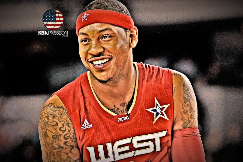 2010 NBA All Star Game Carmelo Anthony