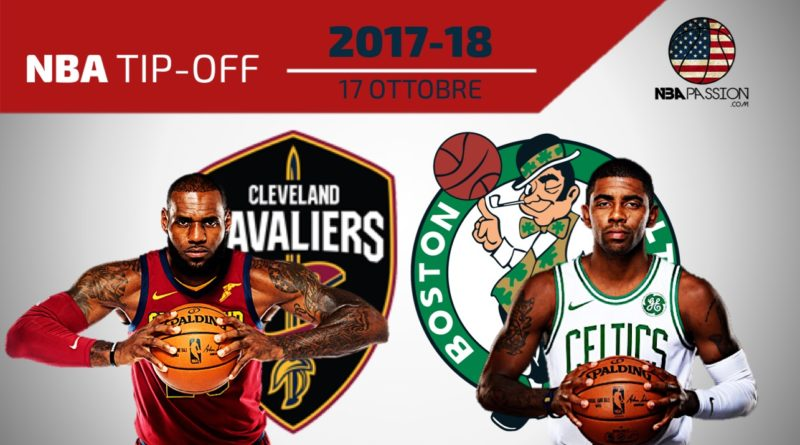 LeBron James vs Kyrie Irving • Cleveland-Boston • NBA tip-off 2017-18
